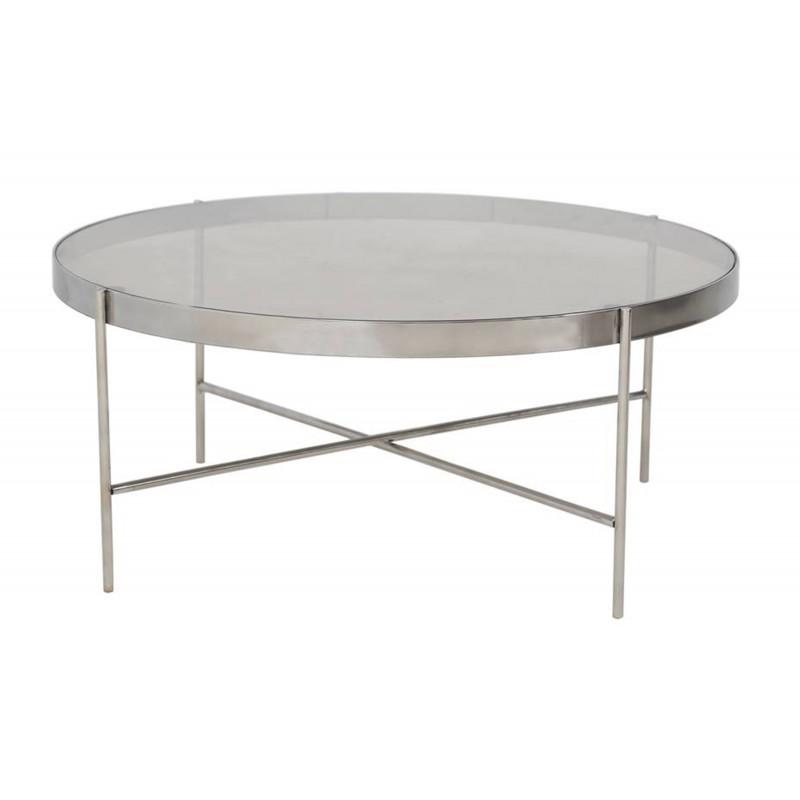 Table Basse inox D80